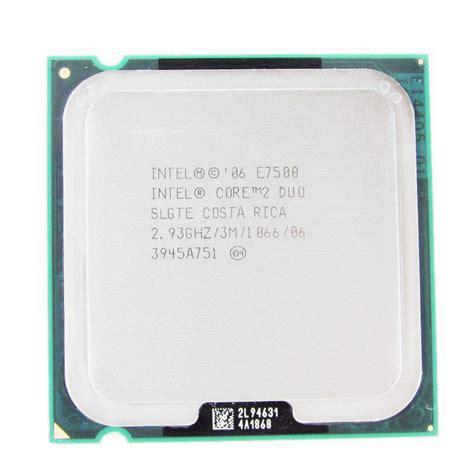 Processor E7500 aliexpress buy original intel 2 duo e7500 processor 2 93ghz fsb1066mhz desktop lga775