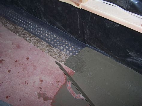 interior exterior sump drain systems montana