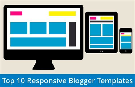 top 10 free responsive blogger template