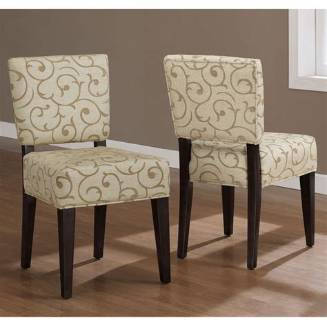 damask dining room chairs savannah damask dining chairs set of 2 kitchen room living