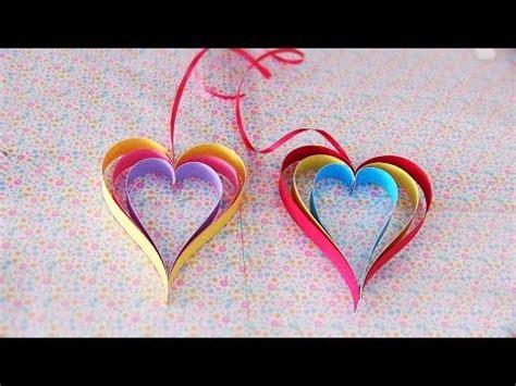 corazones colgantes para el dia de san valentin 14 de