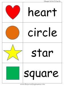 printable shapes word quot this shaped heart quot emergent reader free printable this