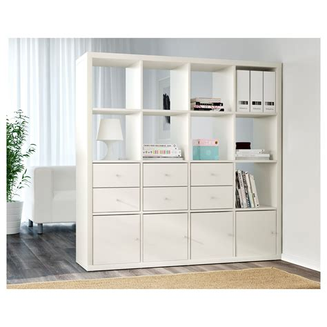 kallax shelving unit white 147x147 cm ikea