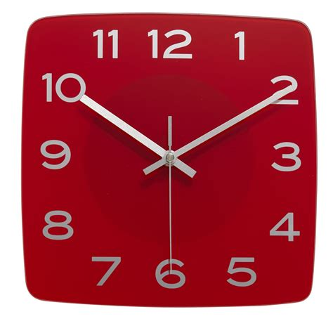 Modern Wall Clock by Square Clock Clipart Best