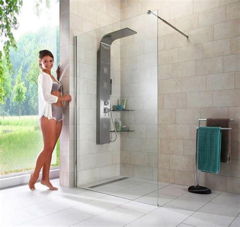 dusche in dusche walk in dusche 187 duschabtrennung 171 breite 120 cm otto