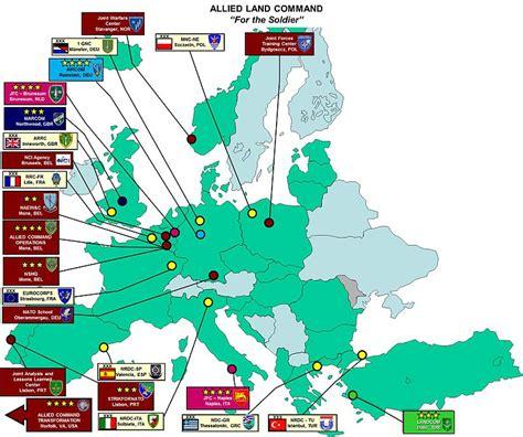 infrastructures de l otan en europe