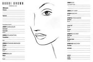 Bobbi brown blank face chart cliomakeup blog tutto su trucco