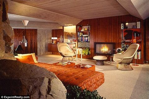 Bond Interior Design by Come Into Lair Inside The Californian Space Age Home