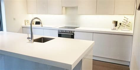 corian glacier white corian glacier white island and worktop installation