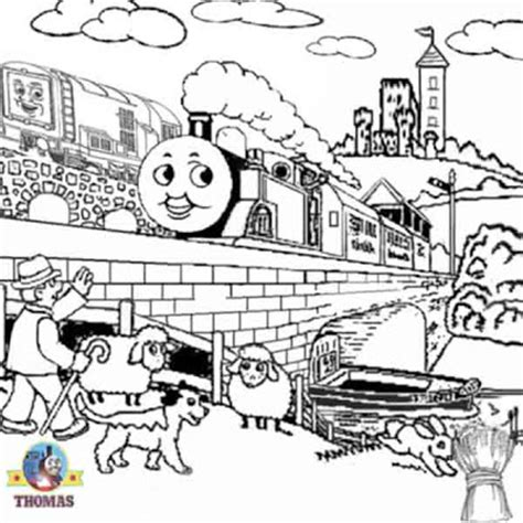 thomas coloring pages games october 2009 train thomas the tank engine friends free
