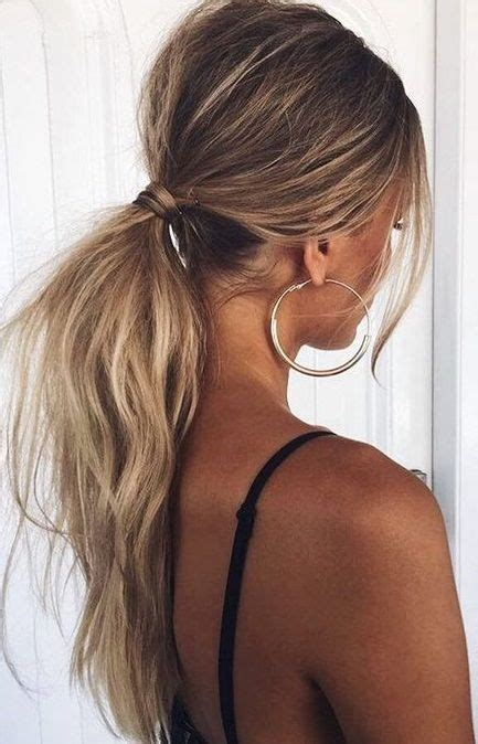 easy and beautiful pony hairstyles top 25 best ponytail hairstyles ideas on pinterest easy