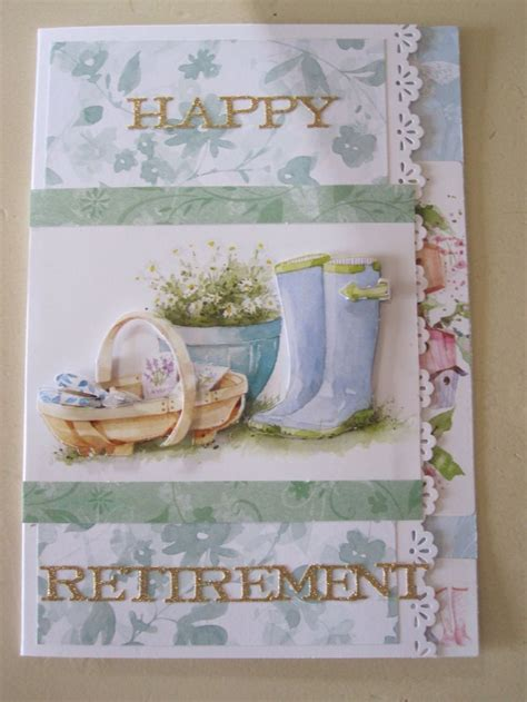 Handmade Retirement Cards - 17 best images about retirement card inspiration on