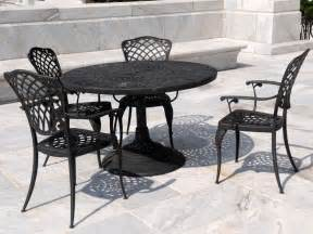 Wrought Iron Patio Furniture Wrought Iron Patio Dining Set Patio Design Ideas
