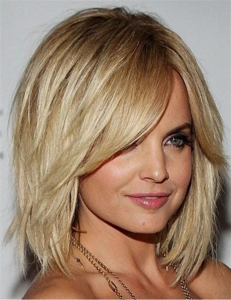 shoulder length top 20 medium length hairstyles with bangs for round faces