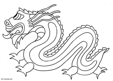 coloring page chinese dragon img 5662