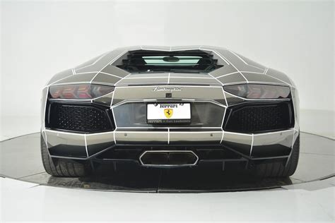 maserati tron tron inspired chrome lamborghini aventador is on sale