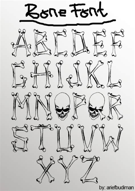 Printable Bone Font | bone font love the quot o quot and the q cute printables and