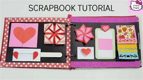 scrapbook tutorial videos scrapbook tutorial how to make scrapbook diy scrapbook