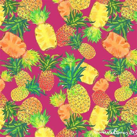 wallpaper pineapple pink wallpaper pineapple illustration pink tropical
