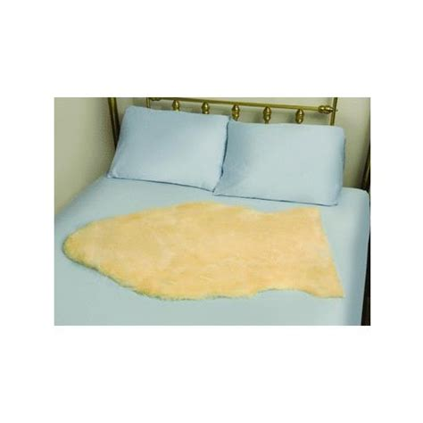 sheepskin bed pad mabis dmi deluxe natural sheepskin bed pad mattress