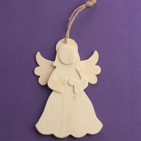 unfinished wood angel cutout ornament wood cutouts