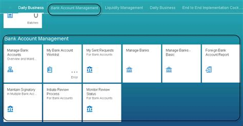 house account sap simple finance introduction