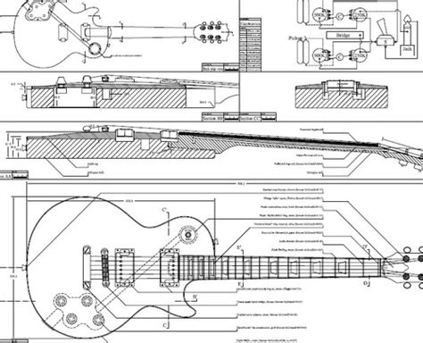 acoustic guitar schematics pictures to best free home design idea inspiration