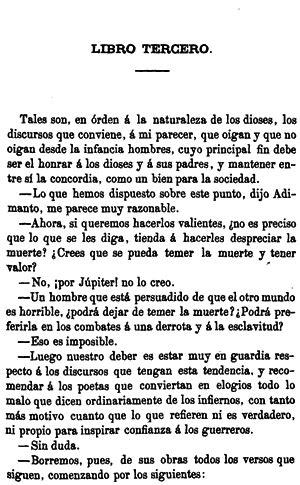 libro por qu la repblica plat 243 n la rep 250 blica libro tercero obras completas de plat 243 n madrid 1872