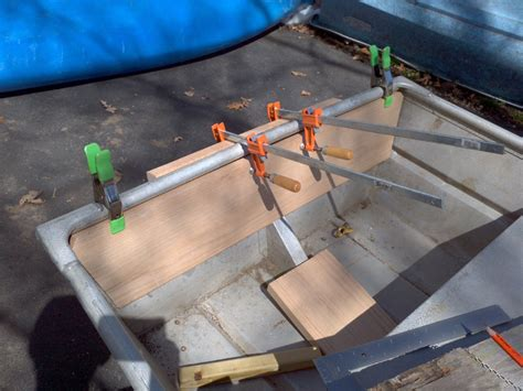 how to strengthen transom on aluminum boat melisa looking for 14 jon boat deck plans