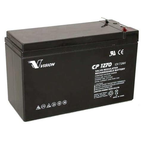 Baterai Accu Vrla Agm Panasonic 12v 7 2ah Lcv127r2na Untuk Ups osi batteries vision cp1270 battery 12v 7ah sealed