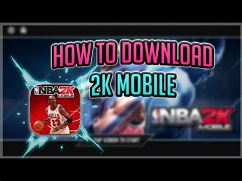 2k mobile how to nba 2k mobile