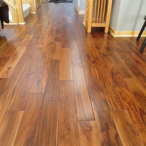 Prefinished Solid Hardwood Flooring Acacia Walnut Bronze Solid Prefinished Hardwood Wood Flooring Floor Sle Ebay