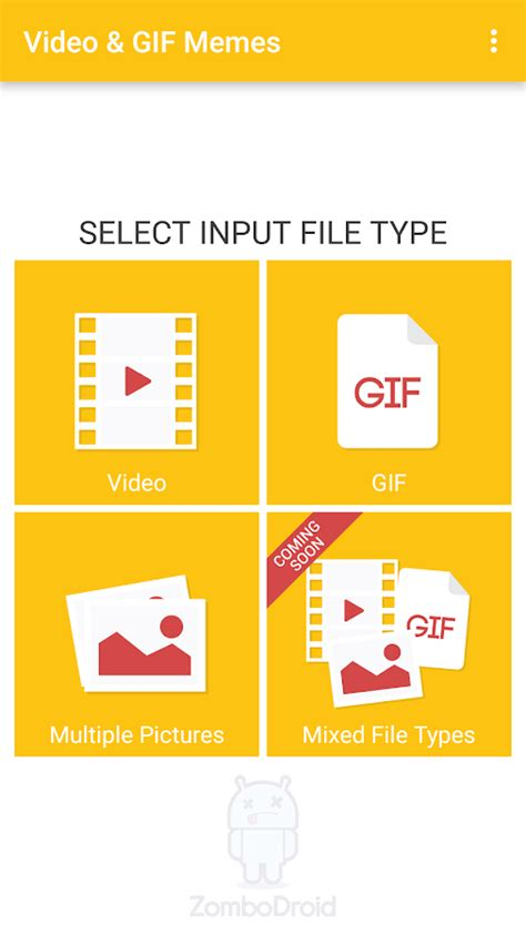 Video Memes App - video gif memes android apps on google play