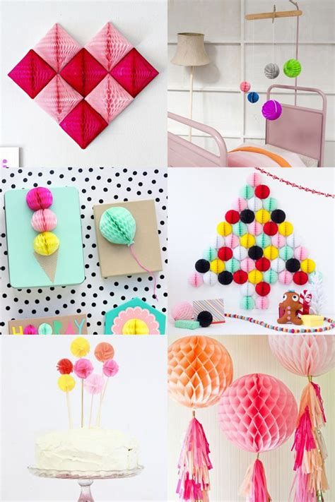 How To Make Mini Tissue Paper Pom Poms - best 20 honeycomb paper ideas on phone books
