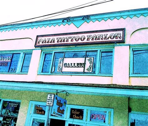 paia tattoo parlor paia hi 96779 pics of some shops in this