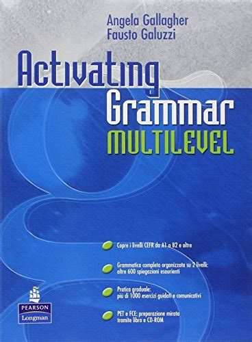 libro grammar and punctuation year activating grammar multilevel per le scuole superiori