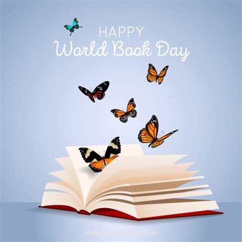 leer en linea libro orejas de mariposa fondo del d 237 a mundial del libro con mariposas en estilo realista descargar vectores gratis