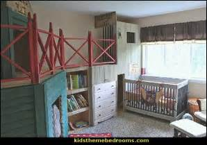 Bedroom decorating ideas old western themed baby nursery decorating
