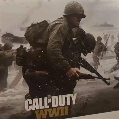 Cod Ww2 call of duty world war ii artwork leaked going back to