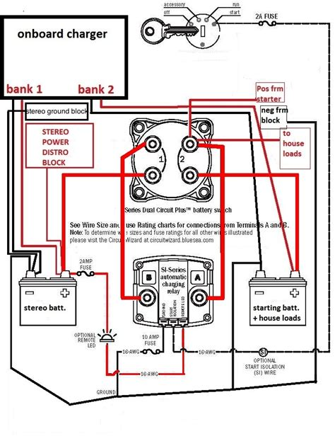 blue sea add a battery wiring diagram blue sea add a battery wiring diagram fuse box and