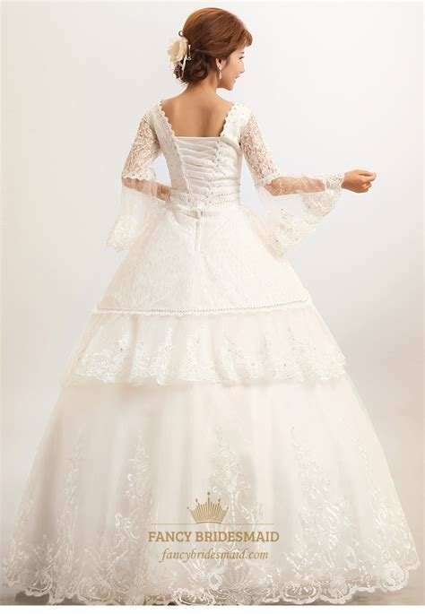 Vintage Modest Wedding Dresses by Modest Wedding Dresses With Sleeves Lace Wedding