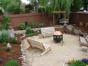 Backyard Ideas On A Budget Pit Backyard On A Budget Outside Backyards