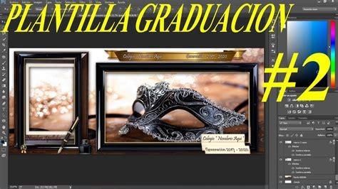 marcos psd graduacion plantilla psd graduaci 243 n con dise 241 o marco decorativo para