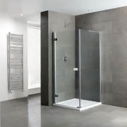 hinged frameless shower doors volente frameless hinge door silver shower enclosure buy