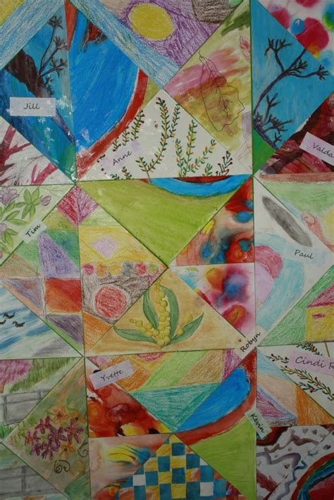 Penrith Patchwork - a friendship visual patchwork by the no boundaries visual