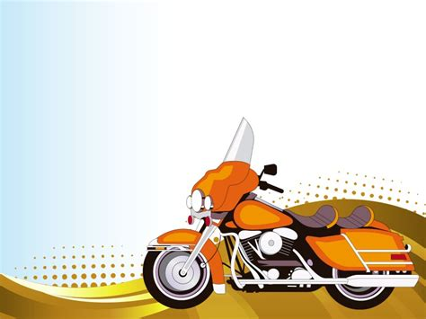 Motorcycle Racing With Yamaha Powerpoint Templates Car Motorcycle Ppt Templates Free