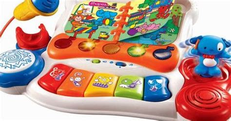 Vtech Sing And Discover Piano 6m Mainan Vtech T3010 2 vtech sing and discover piano educational review compare prices buy