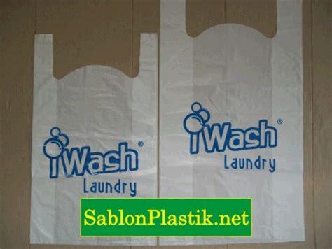 Plastik Kemasan Laundry Sablon Plastik Kresek Jakarta Pesanan I Wash Laundry