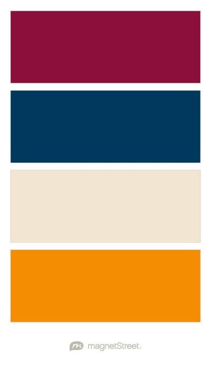 burgundy color palette burgundy navy chagne and tangerine mustard yellow