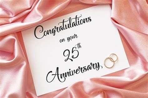 Congratulation Wishes For Wedding Anniversary by 25th Wedding Anniversary Wishes And Messages Wishesmsg